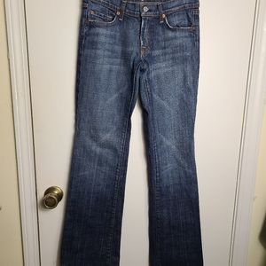 7 For All Mankind Boot Jeans